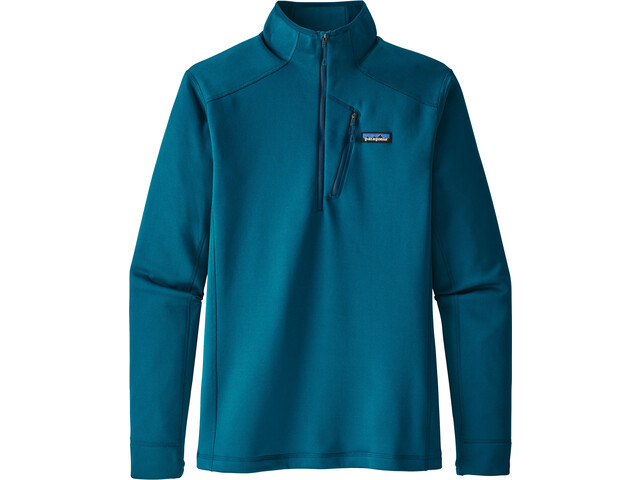 Patagonia Crosstrek 1/4 Zip Shirt Herr big sur blue